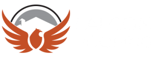 Falcon Roofing Logo Reversed