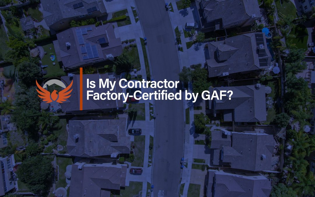 Is My Contractor GAF Certified